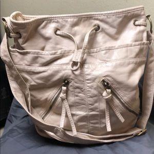 Cream Aeropostale shoulder bag